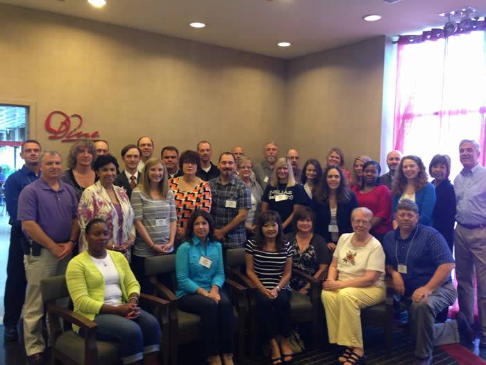 Photo of Chicago training participants